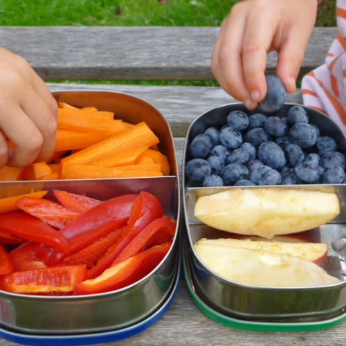 'Picky Eater Tray' – adapted from Jennifer Bishop Design recipe book, for toddlers: