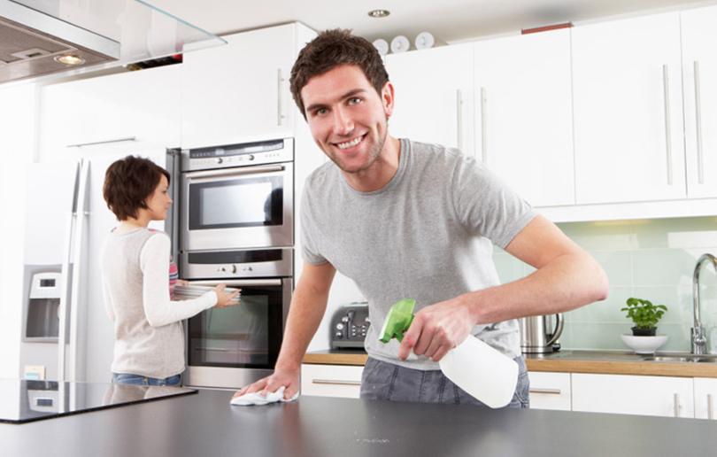 kitchen is clean