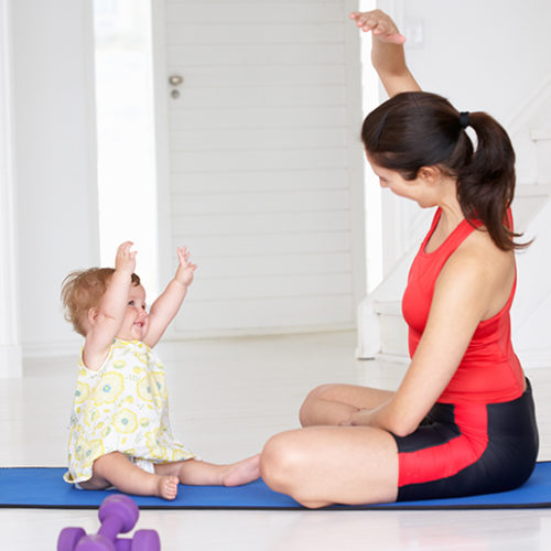 Baby Beeps and Yoga at Orange Wheels