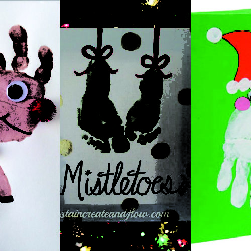 Five festive hand painting ideas kids will love