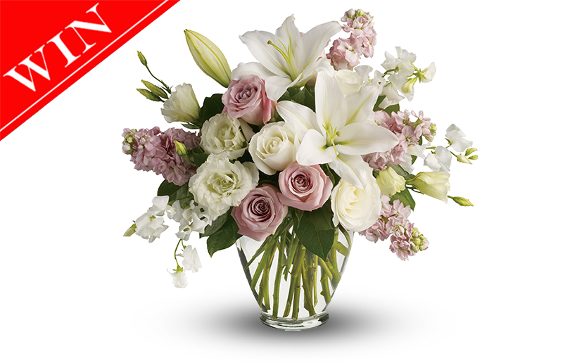 Win a Mother's Day Flower Arrangement Worth AED 265
