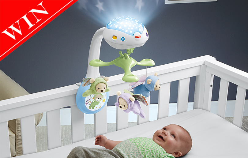 Win a Butterfly Dreams 3-in-1 Projection Mobile Worth AED 329