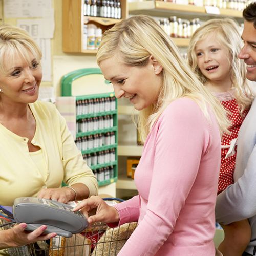 Save up to 75% on the family food shop