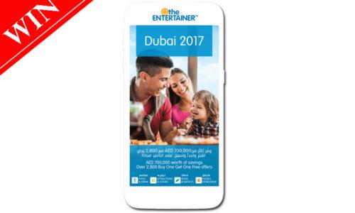 Win The Entertainer Dubai 2017 app worth AED 445