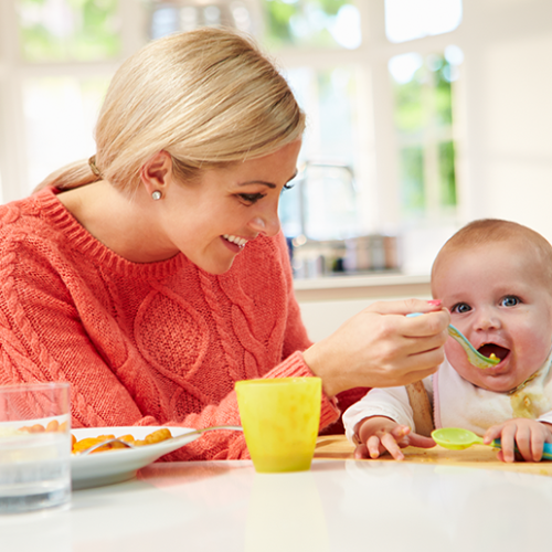 Five superfood weaning recipes