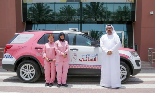 Ambulance service for women and children only in Dubai