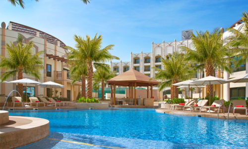 Win a day pool pass for two including brunch at Al Ain Rotana worth AED 755