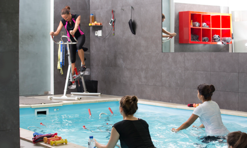 Win 2 aquabiking classes and a session in the detoxifying Iyashi dome at L'Atelier Aquafitness worth AED 590