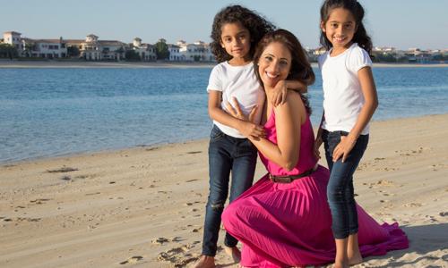 Free spa treatments at the Tis' the Season Mamas' morning