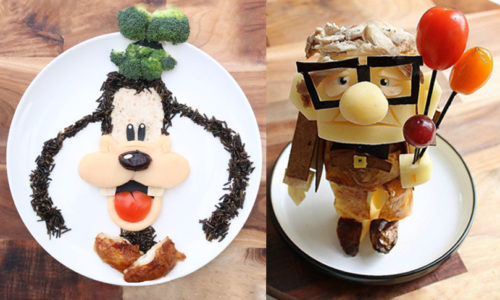Disney-inspired food art comes to Dubai