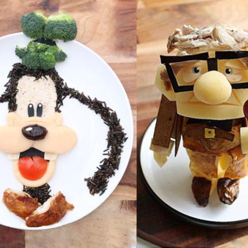 Disney-inspired food art comes to Dubai