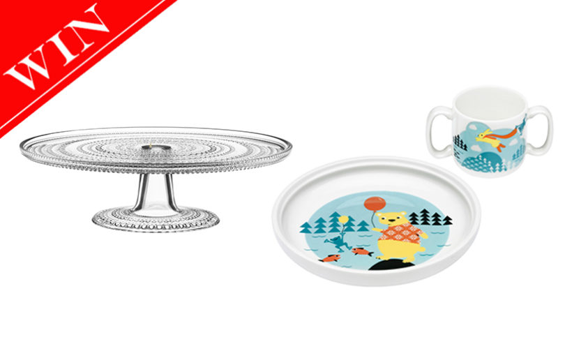 WIN a Children's Set and Cake Stand Worth AED 500 - Mother