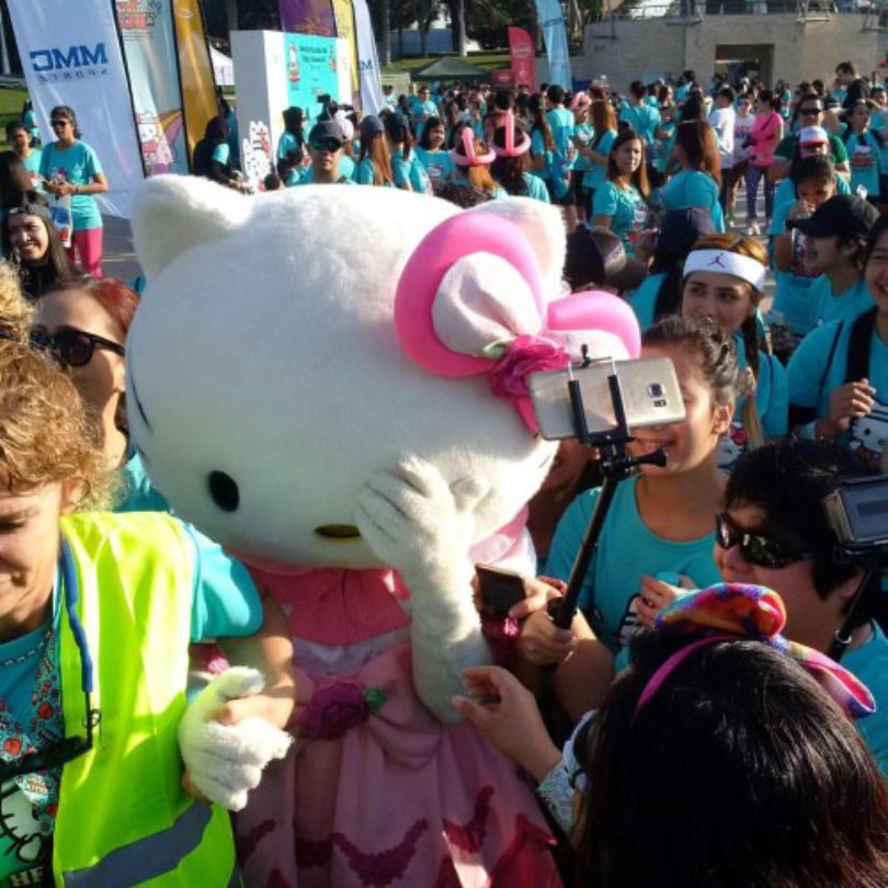 Hello Kitty Run Dubai 2016