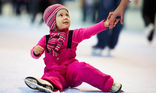 Skate with Ice Tots at Dubai Ice Rink