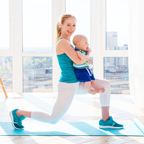 Baby-friendly fitness classes