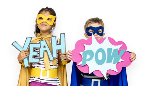 Kid's show: be your own superhero