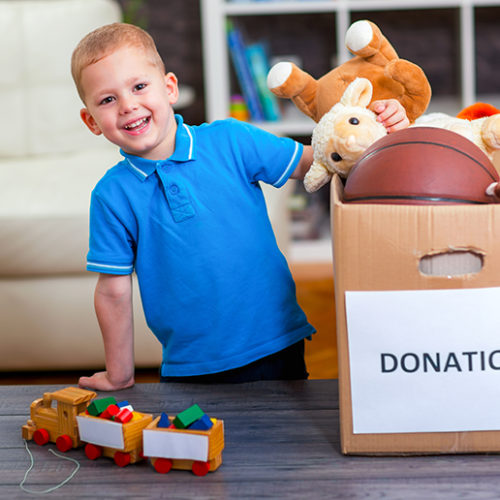 Dubai kids donate thousands to those in need