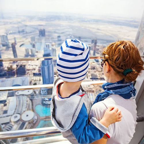 Over 50% discount for a family day out at the Burj Khalifa