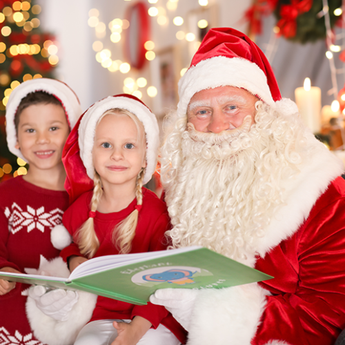 Santa Claus is doing home delivery across Dubai from 1st December!