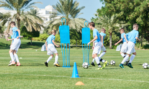 Manchester City offer free soccer coaching in Dubai