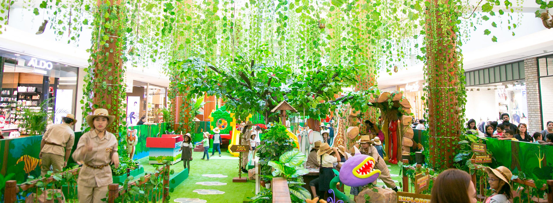 Dubai's BurJuman Mall Jungle Journey adventure is BACK!