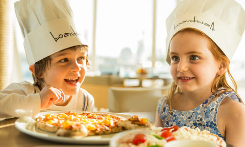 """Kids get a """"pizza the action"""" and unleash their culinary creativity!"""