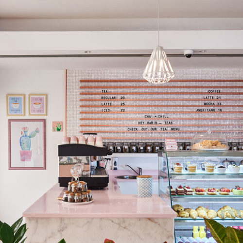 We love this beautiful new café in Dubai