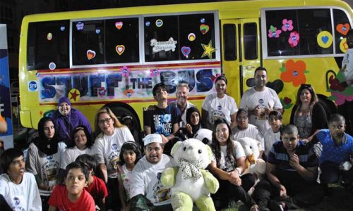 Stuff the Bus makes kids dreams come true this Ramadan