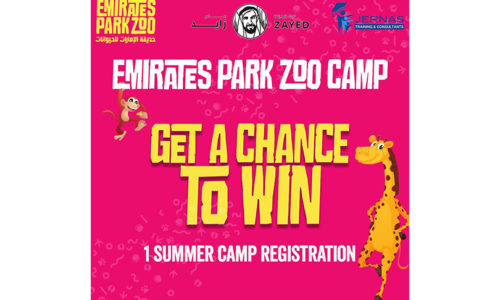 Enter the Emirates Park Zoo Summer Camp Competition