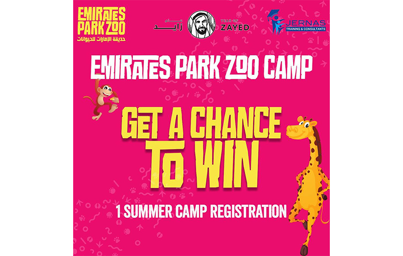 Emirates Park Zoo Summer Camp Competition