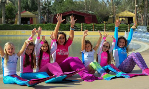 Popular kids' mermaid school is back at Yas Waterworld!