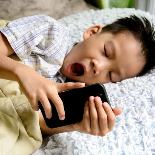 Gadget addiction in kids