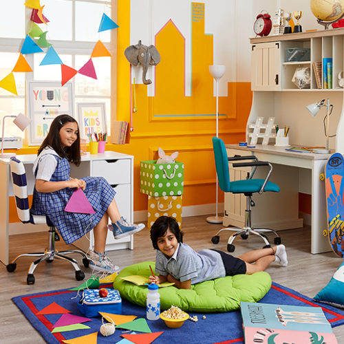Win a fantastic kids' room makeover with Home Centre's back to school range