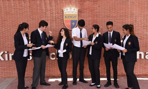 Kings' School Al Barsha celebrates outstanding GCSE results