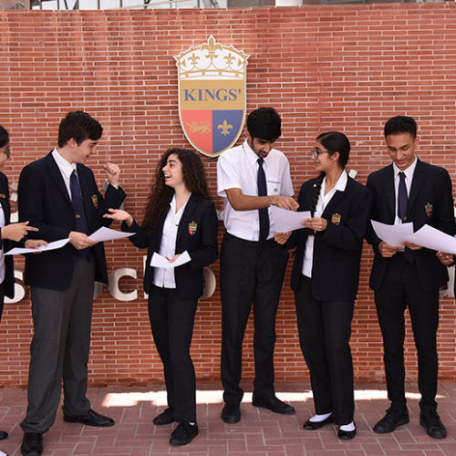 Kings' School Al Barsha celebrates outstanding GCSE results