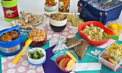 Pressed for time? Order Deliveroo's Lunchbox Stuffers for Children