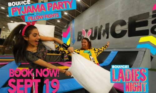 Ladies' Night Pyjama Party at Bounce Abu Dhabi