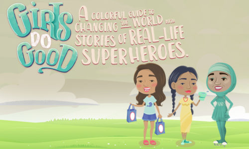 Girls do Good: An Augmented Reality Book
