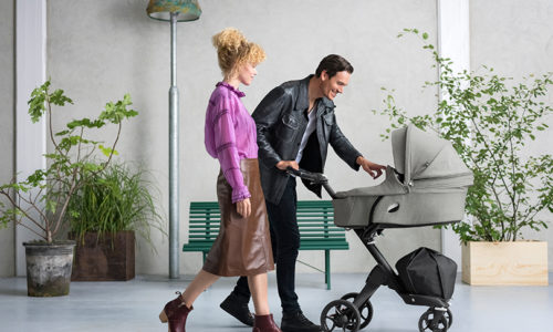 Why the new height adjustable Stokke Xplory is the stroller for you