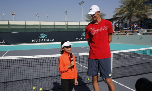 Mubadala World Tennis Championship begins young reporter search