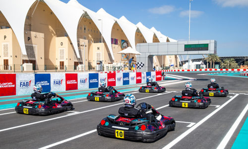 Kids karting class launches in time for Abu Dhabi Grand Prix