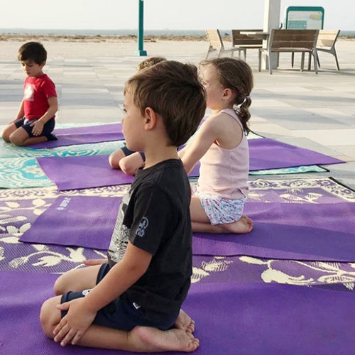 Dubai café to host after-school kids yoga class