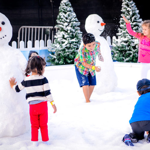 A free five-day winter carnival is coming to Abu Dhabi