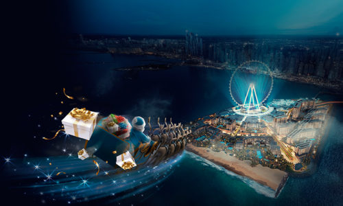 Bluewaters Dubai transforms into Secret Santa Island