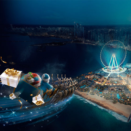 Bluewaters Dubai transforms into Secret Santa Island