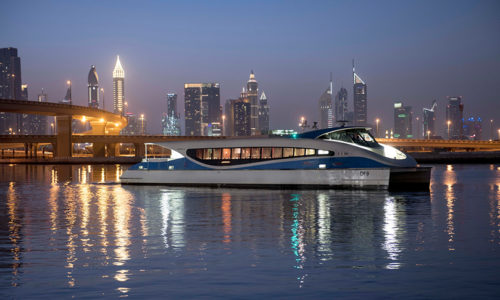 You can now take a ferry from Dubai Mall to Dubai Marina
