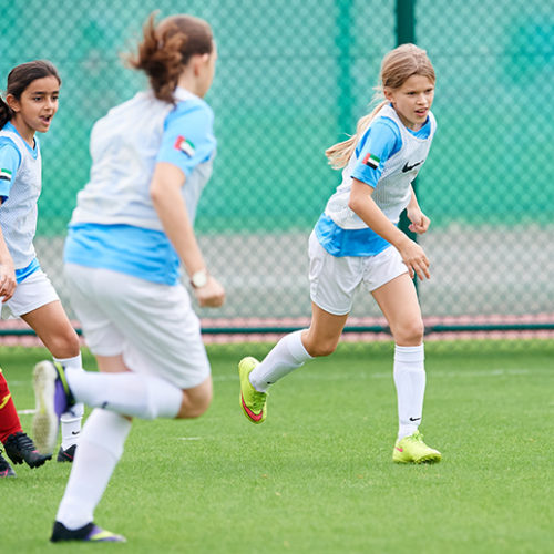 A girls' football festival is heading to Abu Dhabi soon
