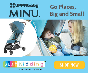 UPPAbaby MINU | Go Places, Big and Small | JustKidding | SHOP NOW