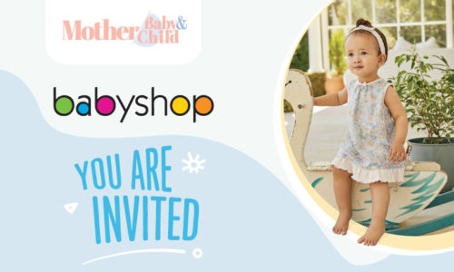 Mother, Baby & Child's Exclusive coffee morning with Babyshop!