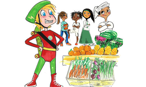 UAE tackles food waste education with new children's book